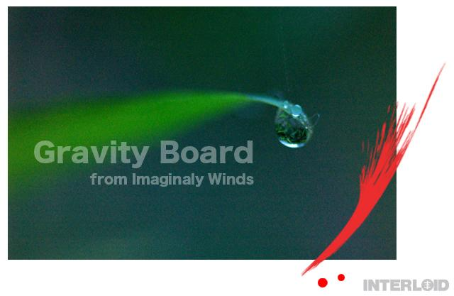 Gravity Boad from Imaginaly Winds